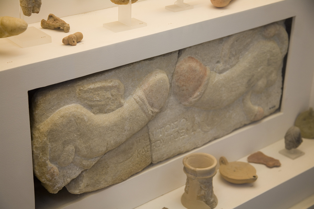 nude phallus sculpture